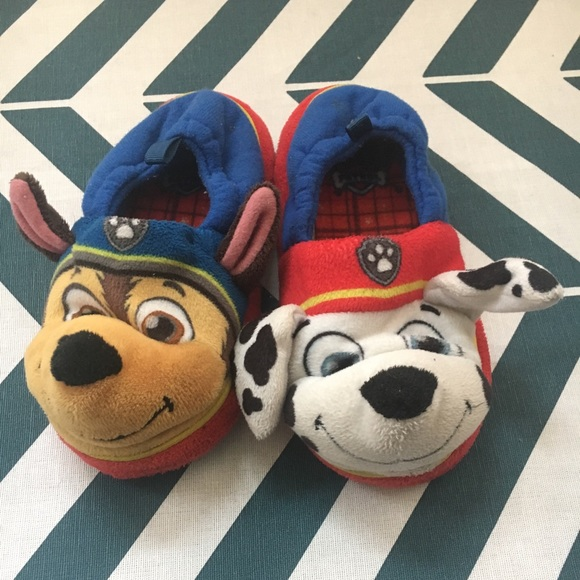 Paw Patrol Boys Slippers